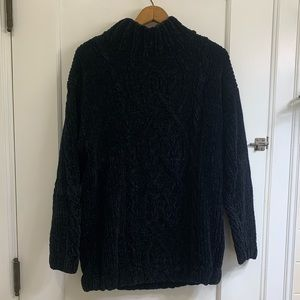 Vintage Express Tricot Chenille Oversized Sweater